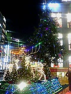 渋谷PARCO<br />  のクリスマスツリー