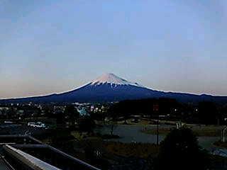 冨士市から見た富士山
